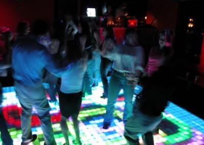 Palms Dance Floor Color Ripple