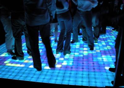 Palms Dance Floor Blue