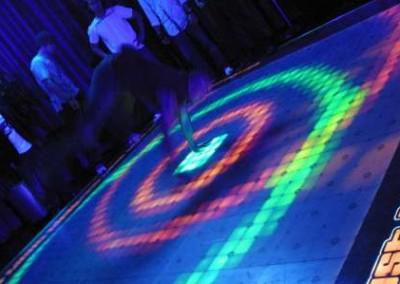 Palms Dance Floor Swirl
