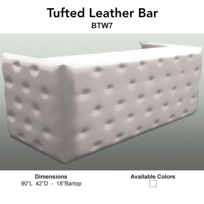 1 Bars - Tufted Leather Main