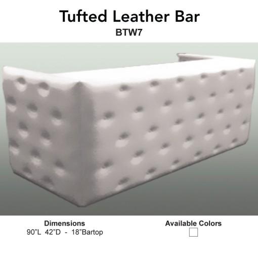 1 Bars - Tufted Leather Main