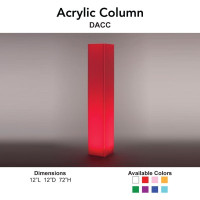 1 Decor - Acrylic Column Main