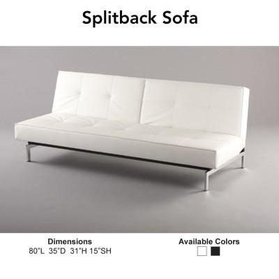 Splitback Sofa Collection - White