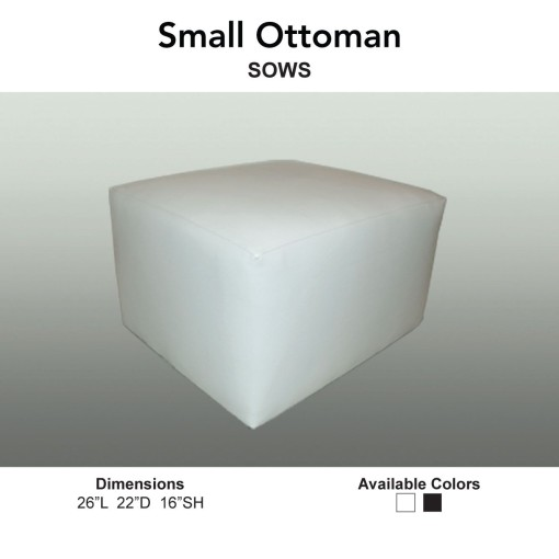 11 Ottomans - Small Ottoman Main