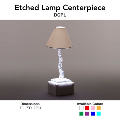 15 Centerpiece - Etched Lamp Main