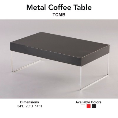16 Coffee Table - Metal Main