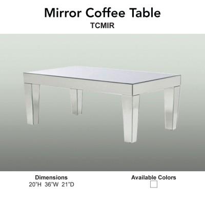 17 Coffee Table - Mirror Main