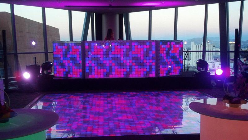 Floor DJ Booth Combo