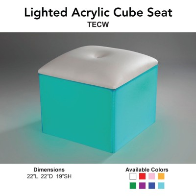 19 Geo Lighted - Geo Cube Seats Main