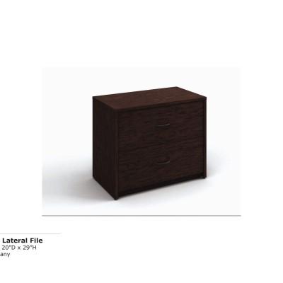 2-DR Lateral File (Mahog)