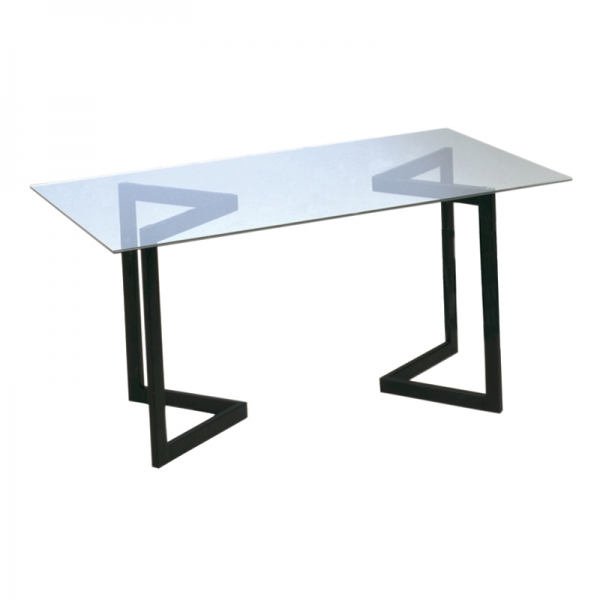Geo Conference Table w/black base