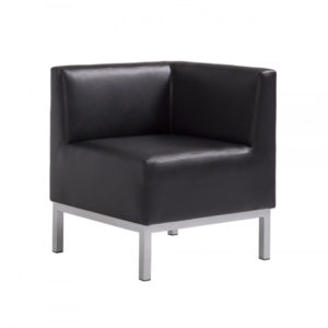 Heathrow Corner Chair Black