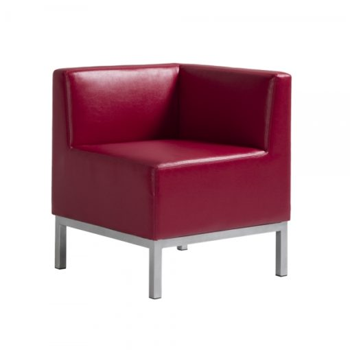 Heathrow Corner Chair Red