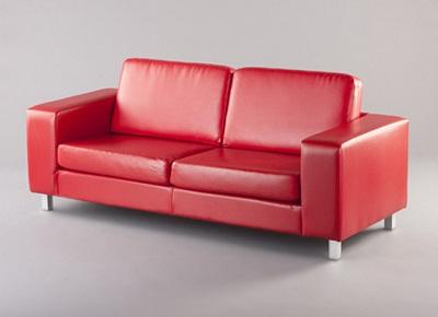 Hugo Sofa red