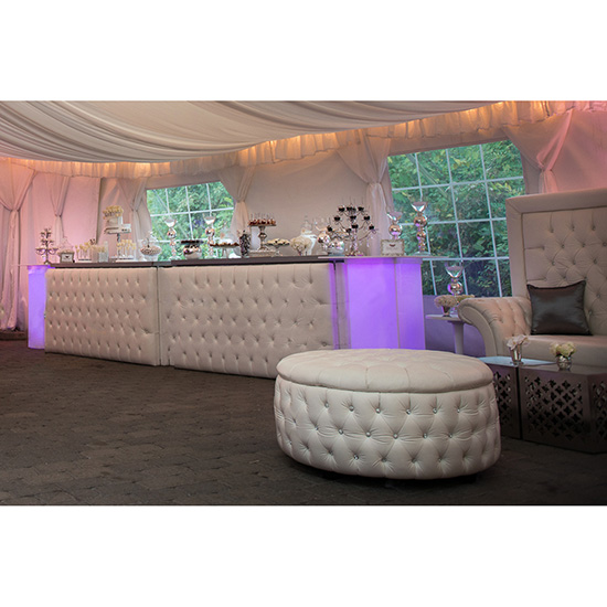 LED Acrylic High Top Table 1