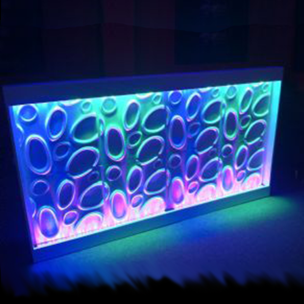LED Bar Front And DJ Booth Facade