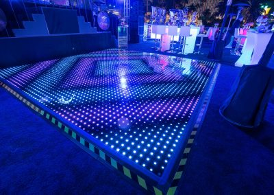 LED lighted tables