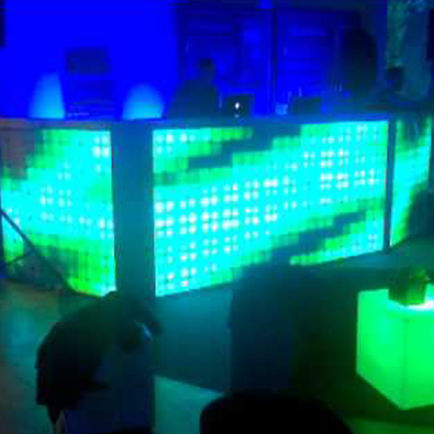 Led Tile DJ Booth