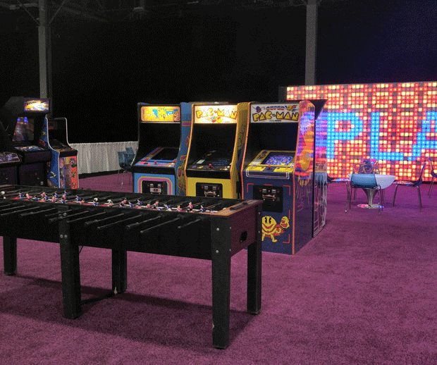 LED Wall - PLAY Fooseball