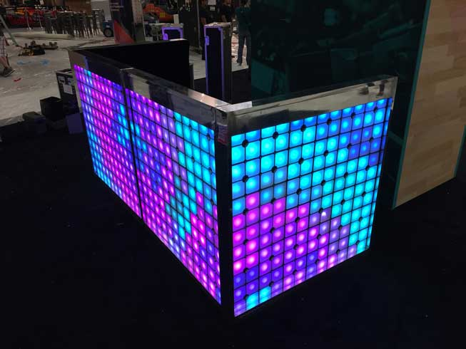 Led Tile Dj Booth 24 Seven Productions