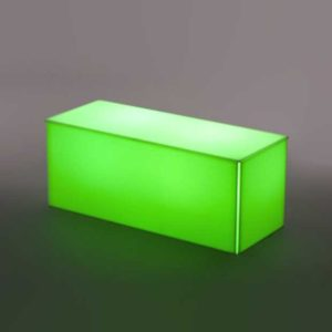 LIGHTED ACRYLIC COFFEE TABLE