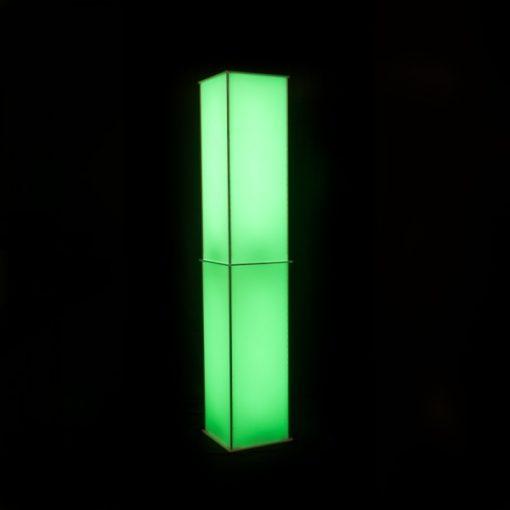 Luna Lighted Column green