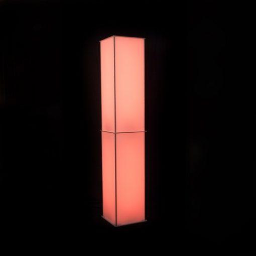 Luna Lighted Column orange