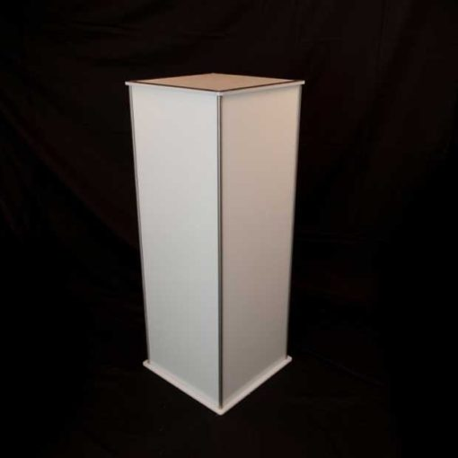 Luna Lighted Pedestal 42in