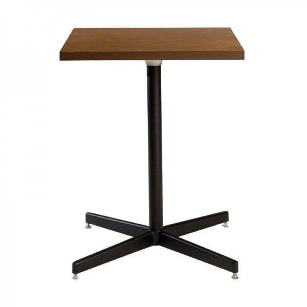 Square Cafe Table w/ Hydraulic Base