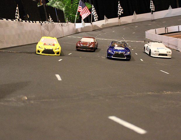Micro-Reality Race Track Cars