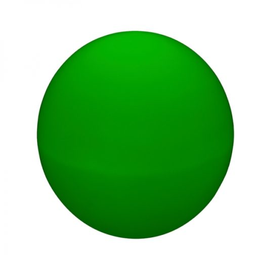 Orb LED light green