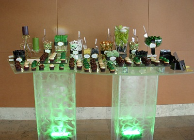 SERPENTINE BUFFET TABLE 2