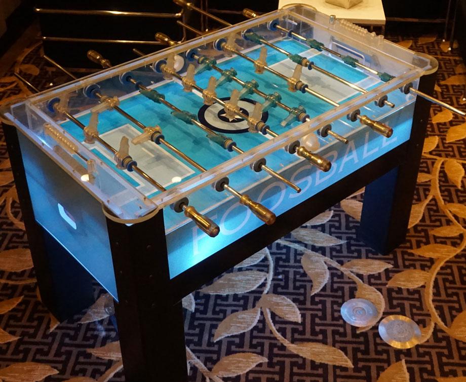 FOOSBALL TABLE (ACRYLIC)