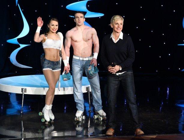 The Skating Aratas Ellen Show