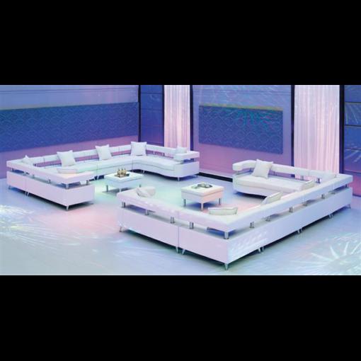 VIP Modular Lounge White