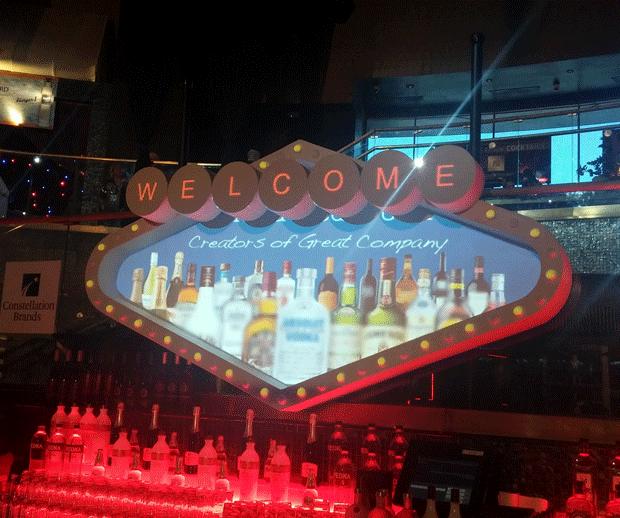 Vegas Sign DJ Booth