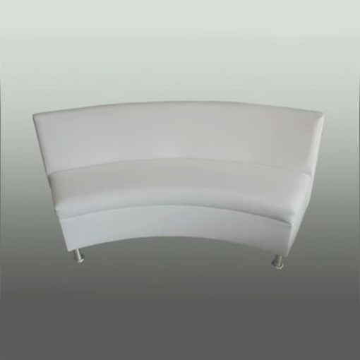 Halo curved sofa