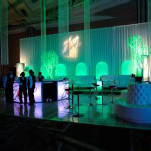 illuminated chandeliers
