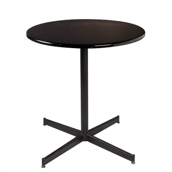 Liquid Black Cafe Table