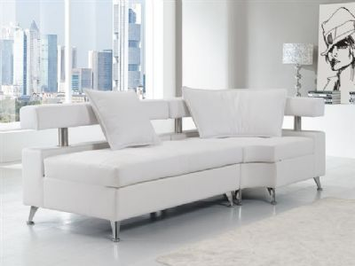 VIP Modular Lounge White Bench