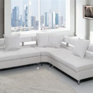 VIP Modular Lounge White Corner