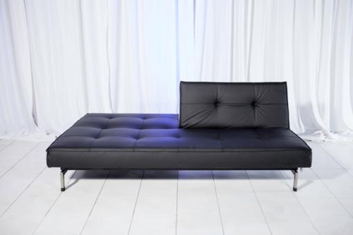 splitback sofa half up