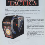 Space Tactics flyer