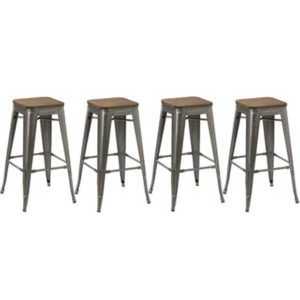 Rustic Bar Stool 30in