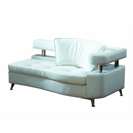 VIP White Modular Chaise Right