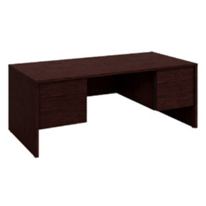 Executive Desk Mahogany