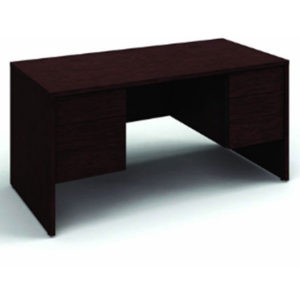 Jr Executive Desk Mahogany