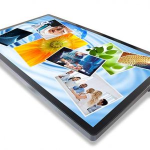 The interactive 55-inch 3M Multi-Touch Display