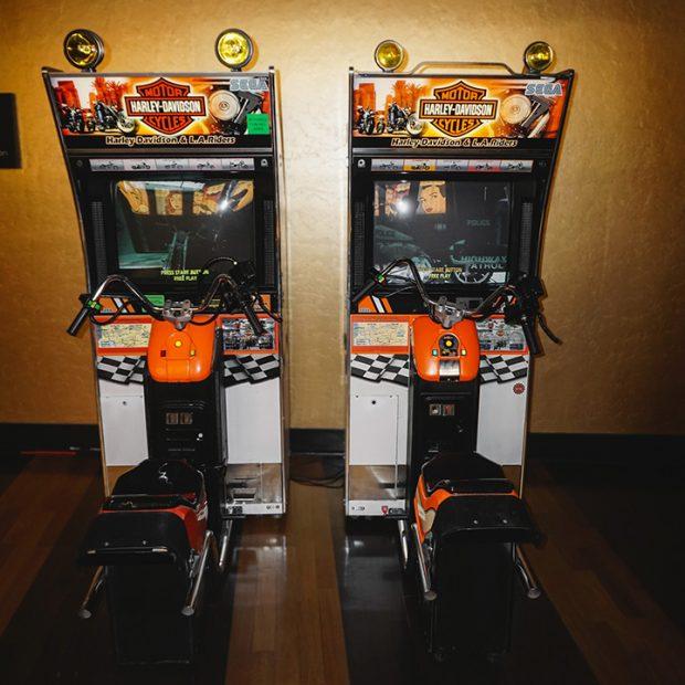 Harley Davidson Arcade Game