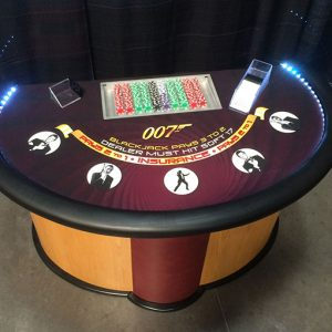 Mini Blackjack 5-Spot Table